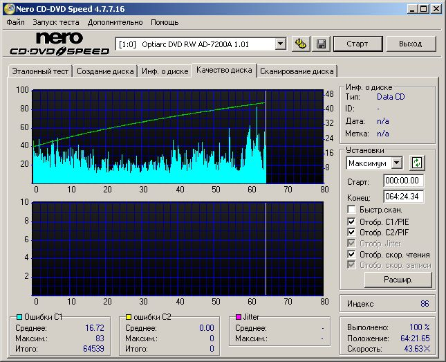 700 гб cd объем запись nero: